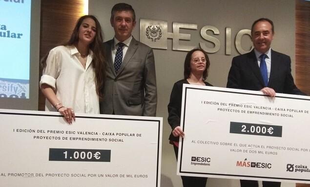 La entrega de premios se ha realizado en el marco del 4º Foro de Inversión de ESIC Valencia.