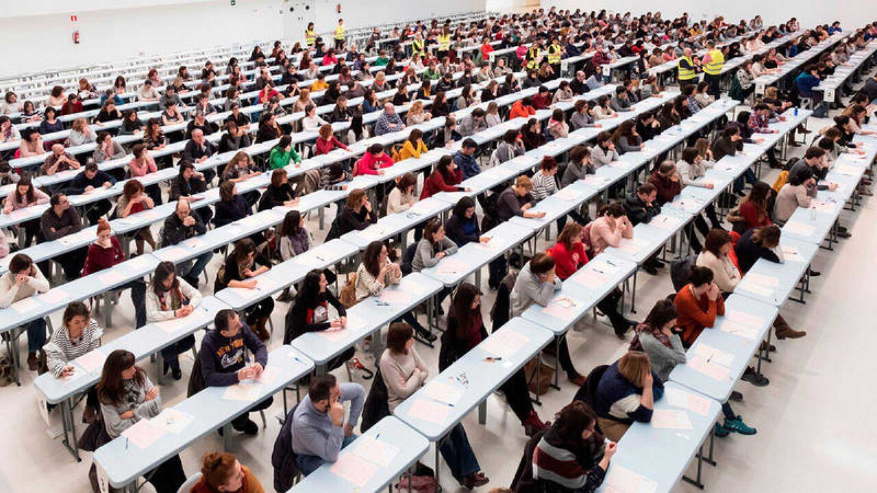 Más de 300.000 personas se presentan este sábado a las oposiciones para varios cuerpos docentes