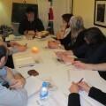 Master class del crítico literario J. Carlos Morenilla en el taller de escritura de 'Libro, vuela libre'.