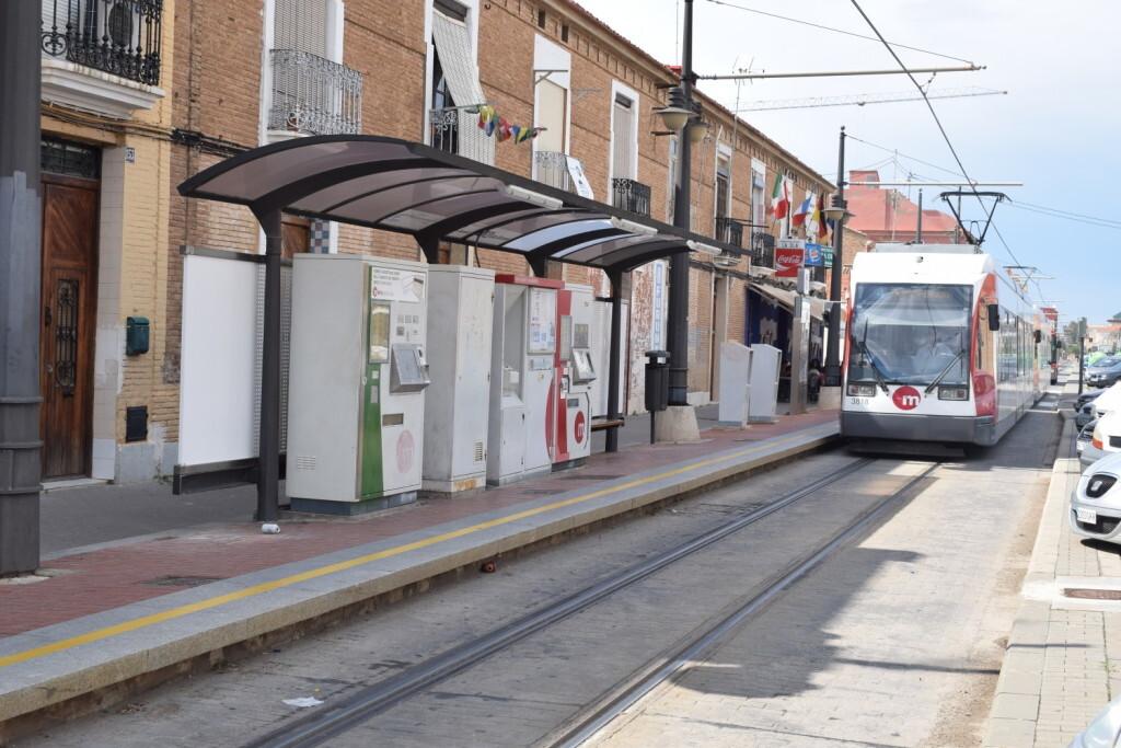 Metrovalencia inicia los trabajos de mejora de las paradas de tranvía entre la Politécnica y La Marina