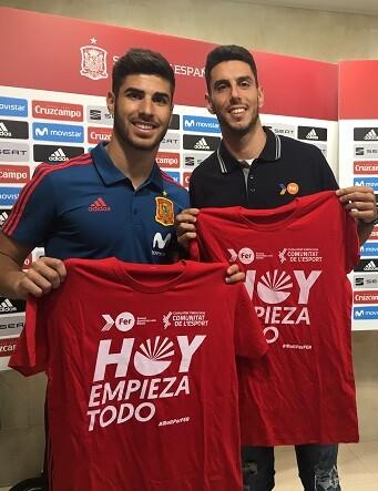 Pablo Torrijos y Marco Asensio.