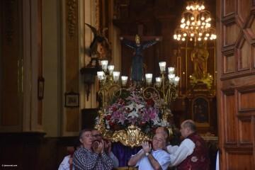 Procesión de la imagen del Cristo de Sant Bult, del siglo XIII, en Valencia 20180610 (25)