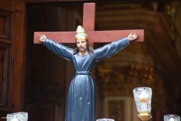 Procesión de la imagen del Cristo de Sant Bult, del siglo XIII, en Valencia 20180610 (26)