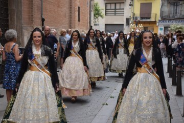 Procesión de la imagen del Cristo de Sant Bult, del siglo XIII, en Valencia 20180610 (44)