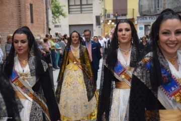 Procesión de la imagen del Cristo de Sant Bult, del siglo XIII, en Valencia 20180610 (45)