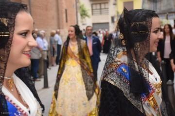 Procesión de la imagen del Cristo de Sant Bult, del siglo XIII, en Valencia 20180610 (46)