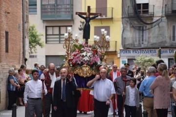 Procesión de la imagen del Cristo de Sant Bult, del siglo XIII, en Valencia 20180610 (49)