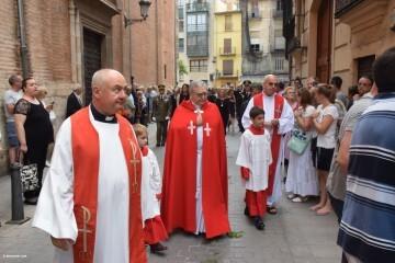 Procesión de la imagen del Cristo de Sant Bult, del siglo XIII, en Valencia 20180610 (51)