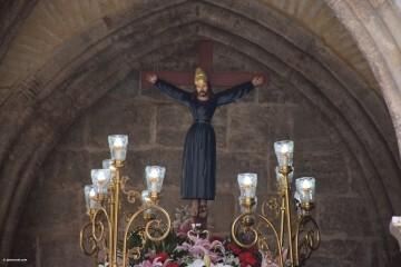 Procesión de la imagen del Cristo de Sant Bult, del siglo XIII, en Valencia 20180610 (55)