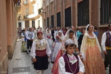 Procesión de la imagen del Cristo de Sant Bult, del siglo XIII, en Valencia 20180610 (63)