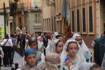 Procesión de la imagen del Cristo de Sant Bult, del siglo XIII, en Valencia 20180610 (66)