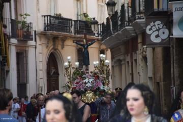 Procesión de la imagen del Cristo de Sant Bult, del siglo XIII, en Valencia 20180610 (69)