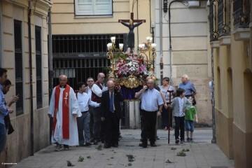 Procesión de la imagen del Cristo de Sant Bult, del siglo XIII, en Valencia 20180610 (74)
