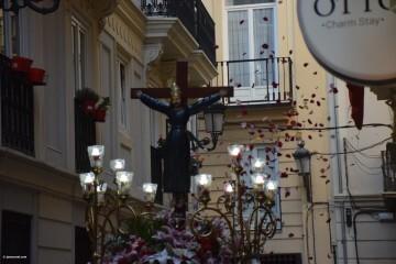 Procesión de la imagen del Cristo de Sant Bult, del siglo XIII, en Valencia 20180610 (75)