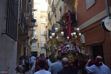 Procesión de la imagen del Cristo de Sant Bult, del siglo XIII, en Valencia 20180610 (78)