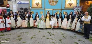 Procesión de la imagen del Cristo de Sant Bult, del siglo XIII, en Valencia 20180610 (8)