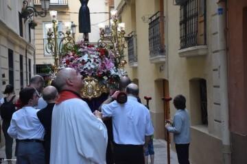 Procesión de la imagen del Cristo de Sant Bult, del siglo XIII, en Valencia 20180610 (80)