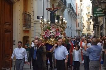 Procesión de la imagen del Cristo de Sant Bult, del siglo XIII, en Valencia 20180610 (81)