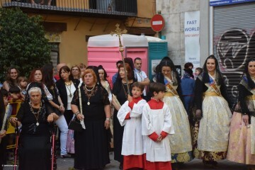 Procesión de la imagen del Cristo de Sant Bult, del siglo XIII, en Valencia 20180610 (86)