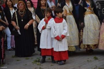 Procesión de la imagen del Cristo de Sant Bult, del siglo XIII, en Valencia 20180610 (87)