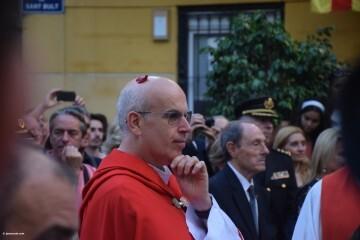 Procesión de la imagen del Cristo de Sant Bult, del siglo XIII, en Valencia 20180610 (91)