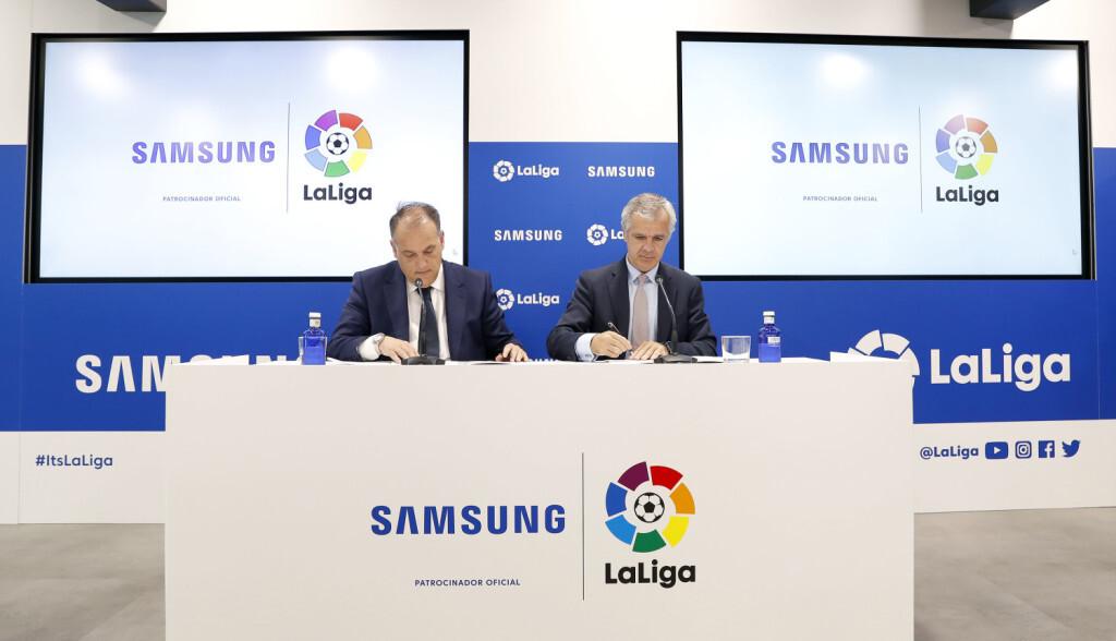 Renovación Samsung-LaLiga