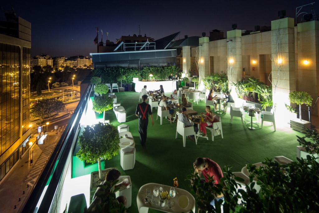 SH Hoteles inaugura la Terraza del SH Valencia Palace (2)