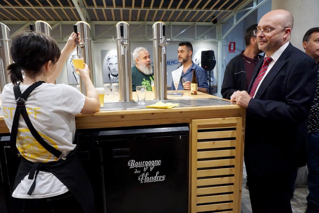 Zeta Beer presenta Trïgger en las Cervezas del Mercado by BWK (132)