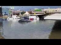Las lluvias torrenciales causan incidentes e inundaciones en Valencia, Albacete y Murcia
