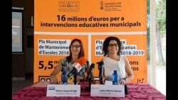 Los espacios educativos municipales de l'Horta Sud mejorarán sus condiciones con la inversión de 2 millones de euros de la Diputació