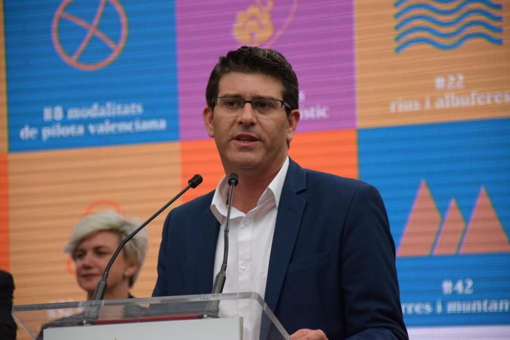 presidente de la Diputación de Valencia, Jorge Rodríguez, (2)