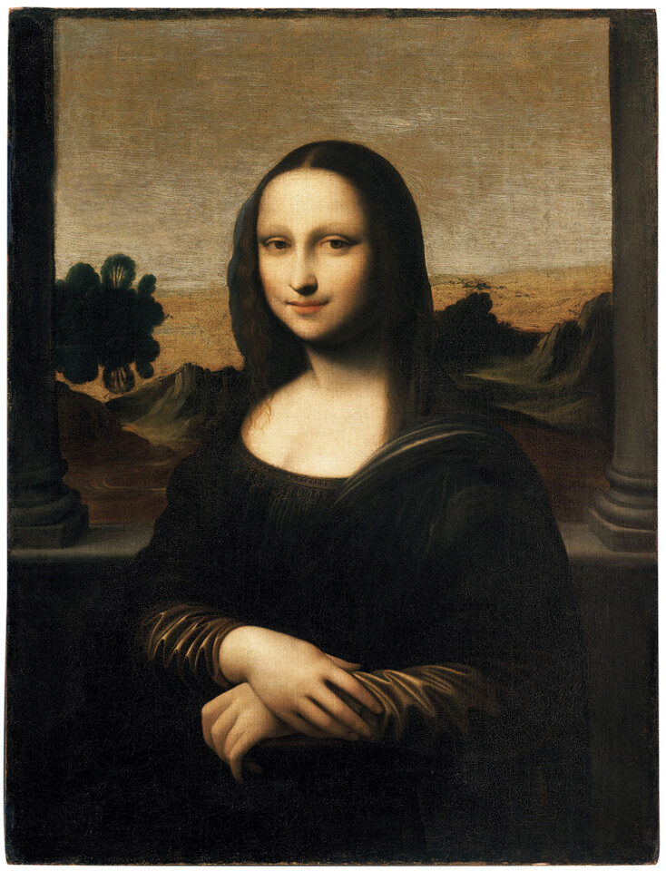 Leonardo da Vinci (1452-1519)     The Isleworth Mona Lisa. Credit: Album / Fine Art Images