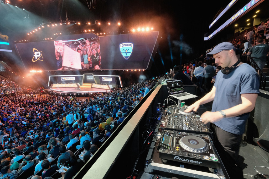 NEW YORK, NY - JULY 27:  DJ Mick performs at Overwatch League Grand Finals - Day 1 at Barclays Center on July 27, 2018 in New York City.  (Photo by Matthew Eisman/Getty Images for Blizzard Entertainment )