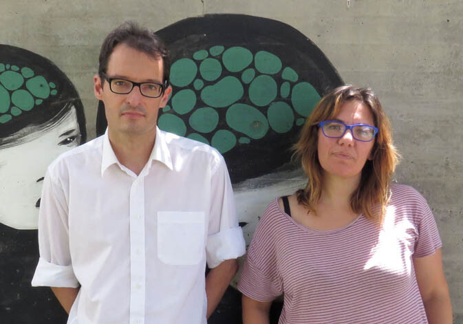 Alícia Villar y Juan Pecourt, investigadora e investigador del Departamento de Sociología y Antropología Social de la Universitat de València.