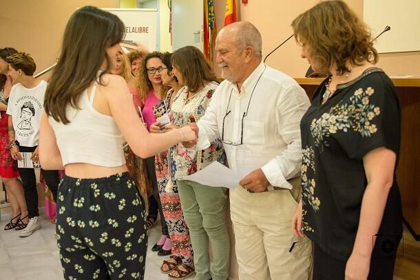 Autores valencianos seleccionados en la antología de Libro, vuela libre. (Foto- Vania Albertini).