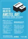CARTEL JULIO AMSTEL ART
