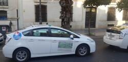 Cerrada a la circulación la calle Colón de València por la huelga de taxistas 20180730_183749(0)
