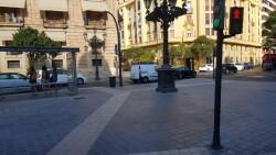 Cerrada a la circulación la calle Colón de València por la huelga de taxistas 20180730_183749(5)