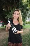 Coque Ruz con su vino