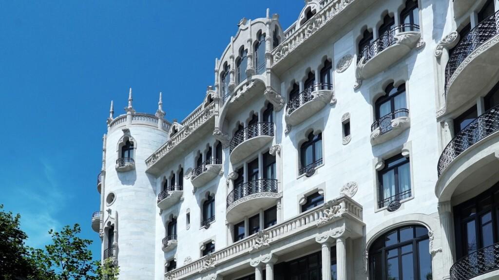 Fachada del Hotel Casa Fuster