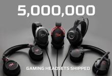 HyperX distribuye 5 millones de auriculares para videojuegos. El fenómeno de los e-sports y de videojuegos como Fortnite impulsan la demanda de auriculares para gaming