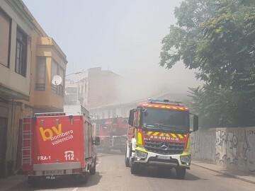 Incendio Camino Moncada 1