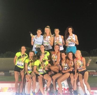 Líderes del Medallero Femenino con 10 Preseas (5 de Oro).