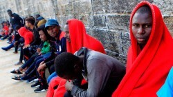 Migrantes llegan más de mil
