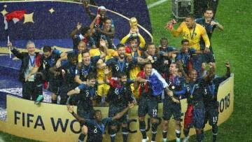 Mundial Rusia 2018 Francia Campeona