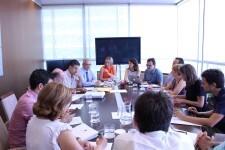 Salvador preside la primera reunión del Consejo de Administración de la Autoridad de Transporte Metropolitano de València