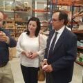 Soler presenta en Onil las ayudas para llevar la banda ancha de 30 megas a tres polígonos industriales de la localidad