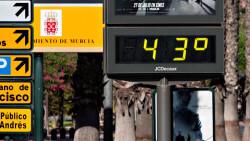 Tiempo Altas temperaturas