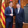 Ximo Puig, ha mantenido una reunión con el presidente del Gobierno, Pedro Sánchez