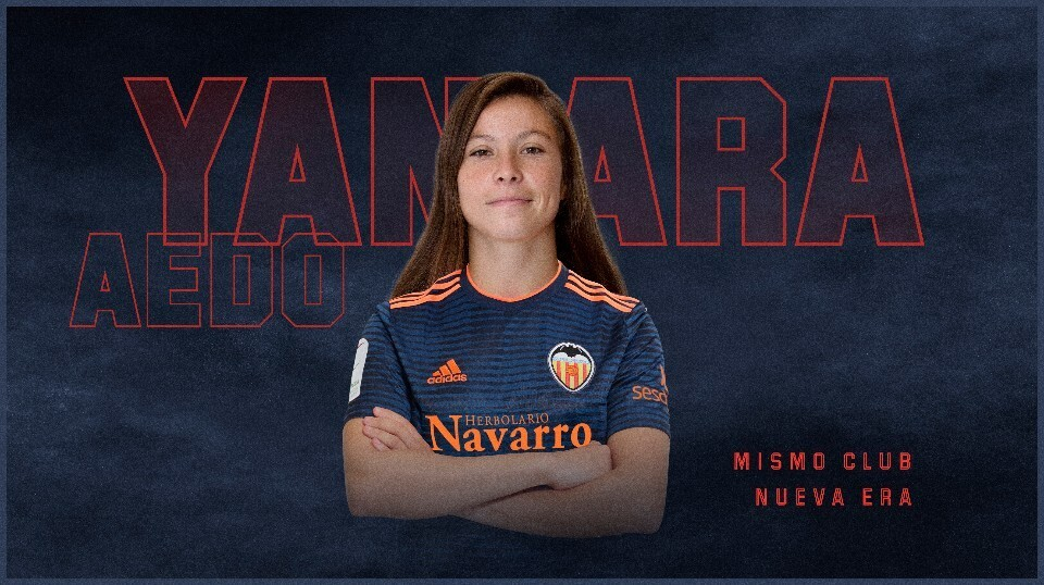 Yanara Aedo regresa al Valencia CF Femenino